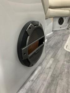 Klipsch Marine Speaker Installed on Crest Pontoon